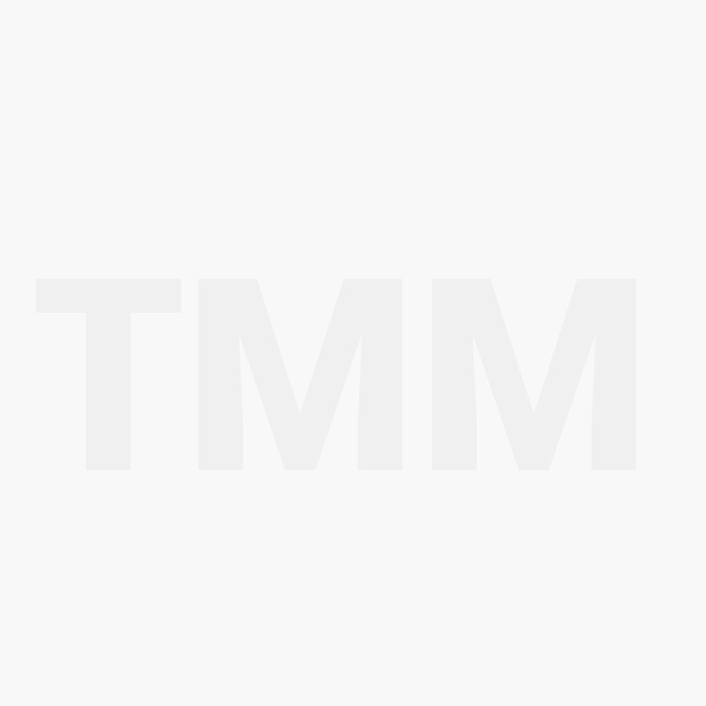 Merkur Matt Red Silver Tip Badger Brush (90 138 031)