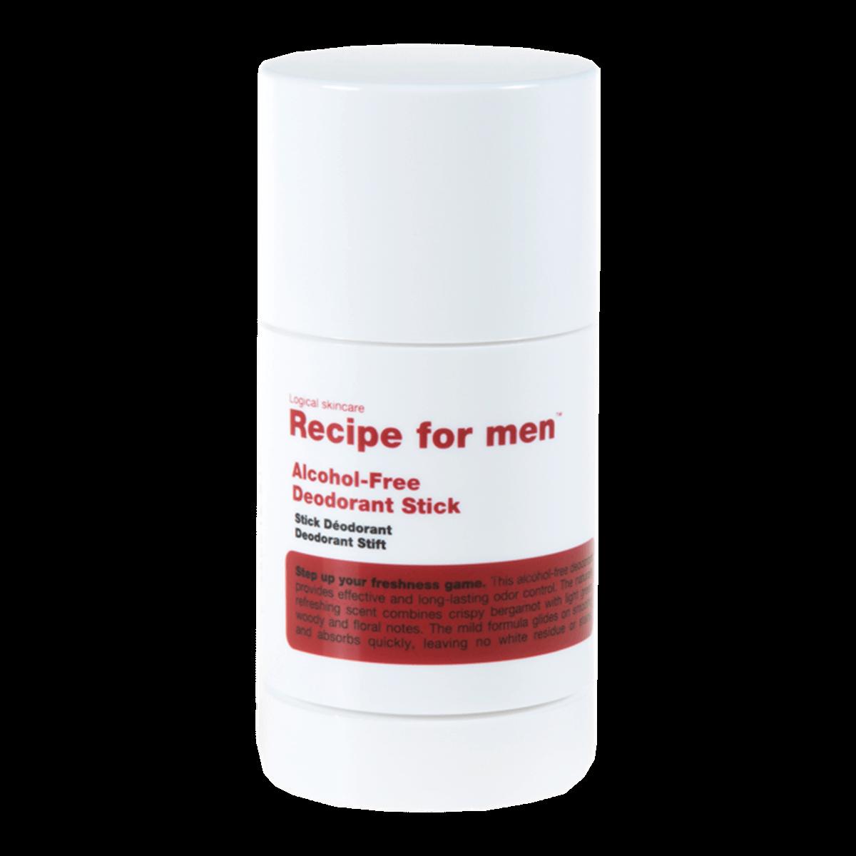 Recipe For Men Alcohol-Free Deodorant Stick 75ml