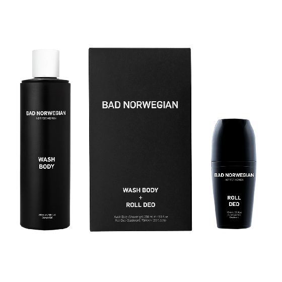 Bad Norwegian Wash Body + Roll Deo Gift Set