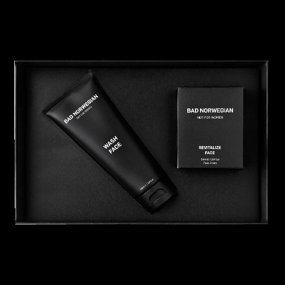 Bad Norwegian Revitalize Face + Wash Face Gift Set