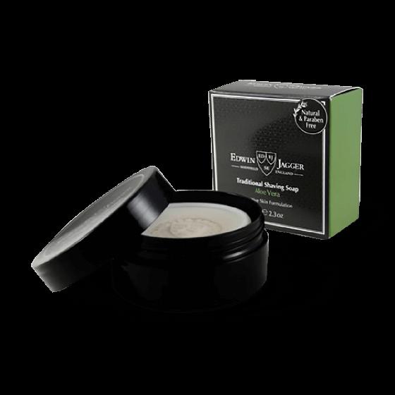 Edwin Jagger Traditional Shaving Soap Aloe Vera 65g