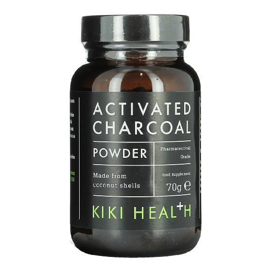KIKI HEALTH Activated Charcoal Powder Food Supplement 70g