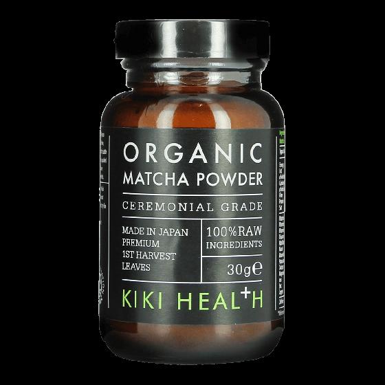 KIKI HEALTH Organic Matcha Green Tea Powder 30g