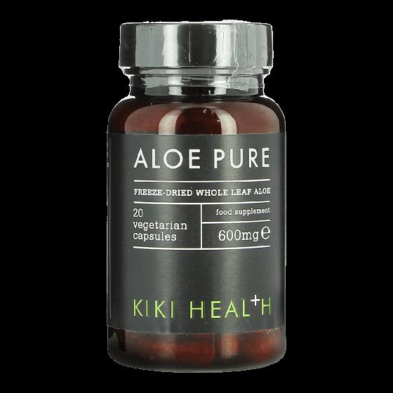 KIKI HEALTH Aloe Pure 20 Capsules 600mg