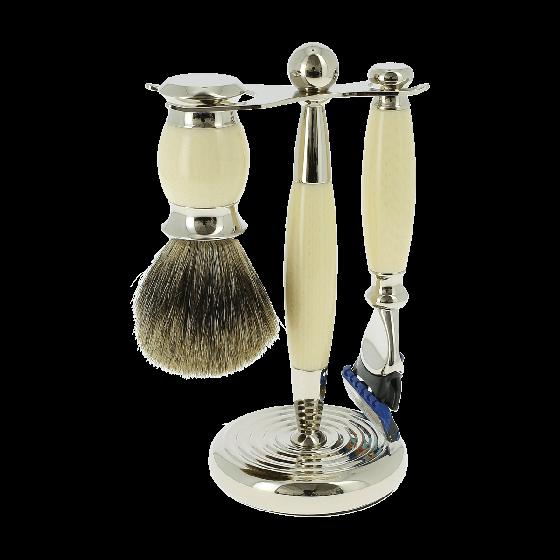 Vulfix Edwardian Fusion Ivory Shaving Set