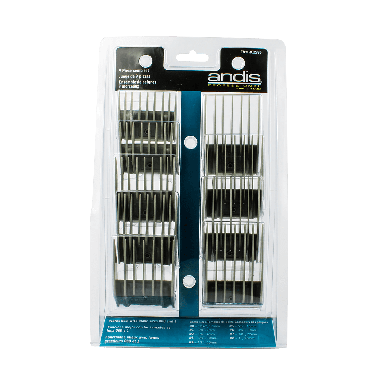 Andis 12995 9-Piece Metal Backed Attachment Combs