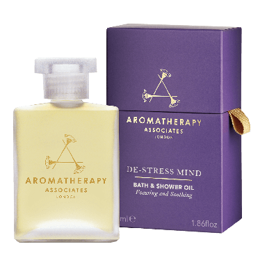 Aromatherapy Associates De-Stress Mind Bath and Shower Oil 55ml