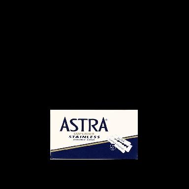 Astra Superior Stainless Double Edge Razor Blades (5 Blades)