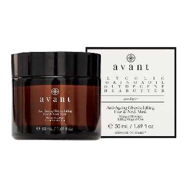 Avant Skincare Anti-Ageing Glycolic Lifting Face & Neck Mask 50ml