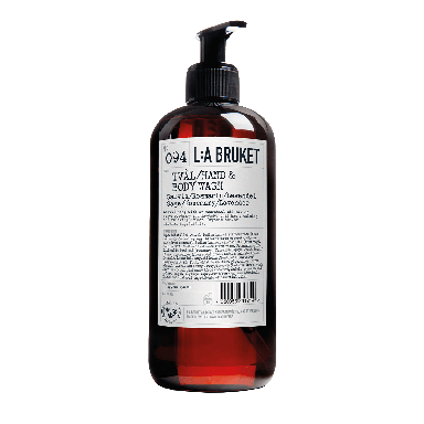 L:A BRUKET Sage, Rosemary & Lavender Hand and Body Wash  450ml