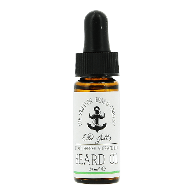 The Brighton Beard Co. Black Pepper & Grapefruit Beard Oil 10ml