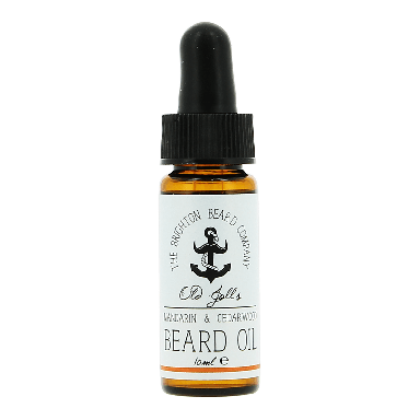 The Brighton Beard Co. Beard Oil - Mandarin & Cedarwood 10ml