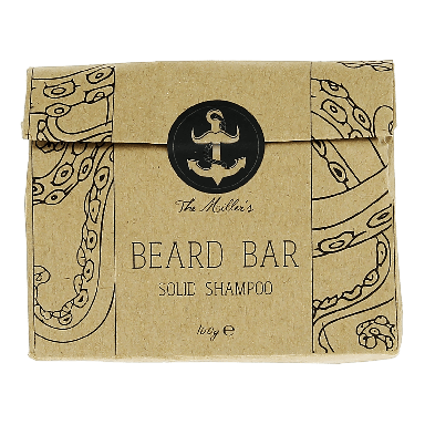 The Brighton Beard Co. Beard Bar Solid Shampoo 100g