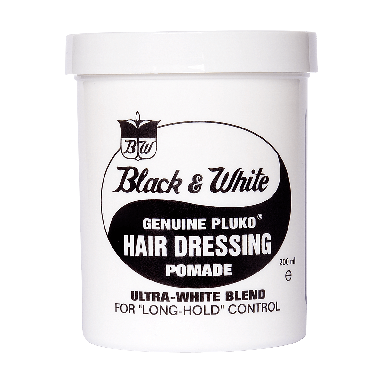 Black and White Wax Genuine Pluko Pomade 200ml