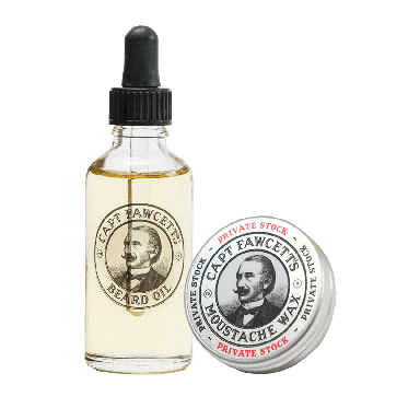 Captain Fawcett Private Stock Beard Oil and Moustache Wax