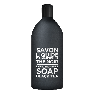 Compagnie De Provence Black Tea Liquid Marseille Soap Refill 1000ml