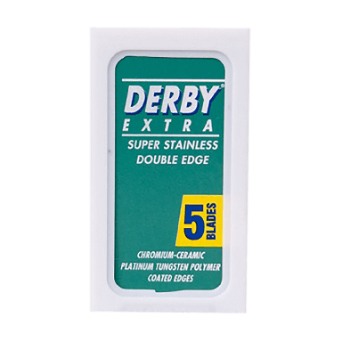 Derby Extra Double Edged Razor Blades (5 Blades)