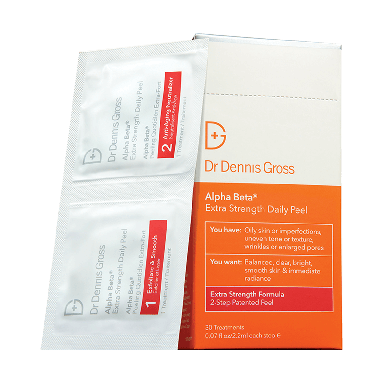 Dr Dennis Gross Alpha Beta Extra Strength 2-Step  - 30 packettes