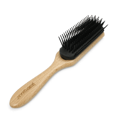 Denman D5 Classic Styling Brush Wood