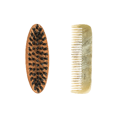 Dr. Dittmar Duo Brush & Comb Beard Set (61270)