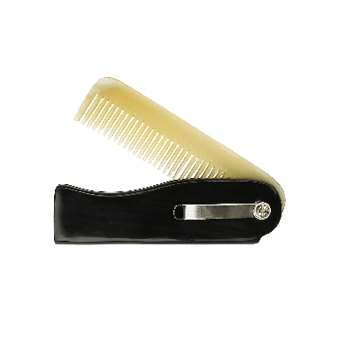 Dr. Dittmar Buffalo Horn Jacket Folding Comb (824-92)