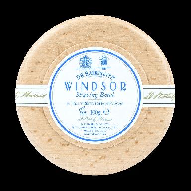 D R Harris Windsor Shaving Soap & Bowl Beech 100g