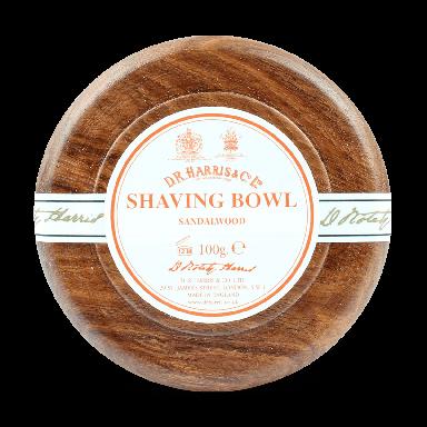 D R Harris Sandalwood Soap & Bowl Mahogany 100g