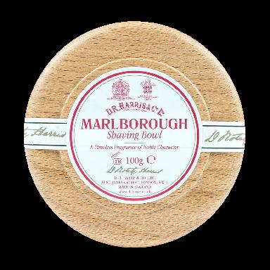 D R Harris Marlborough Shaving Soap & Bowl Beech 100g