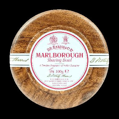 D R Harris Marlborough Shaving Soap & Bowl Mahogany 100g