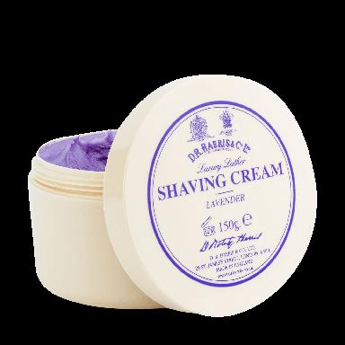 D R Harris Lavender Luxury Lather Shaving Cream Bowl 150g