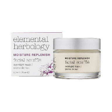 Elemental Herbology Moisture Replenish Facial Souffle Overnight Cream 50ml