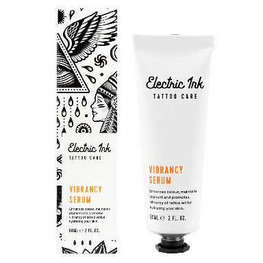Electric Ink Tattoo Vibrancy Serum 60ml