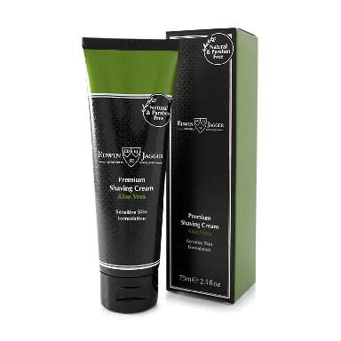 Edwin Jagger Premium Shaving Cream Aloe Vera 75ml