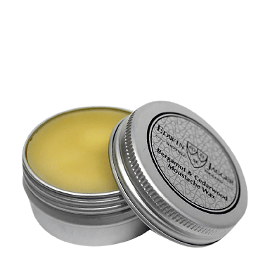 Edwin Jagger Bergamot & Cedarwood Moustache Wax 15ml