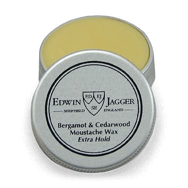 Edwin Jagger Bergamot & Cedarwood Extra Hold Moustache Wax 15ml
