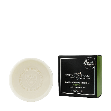Edwin Jagger Traditional Shaving Soap Refill Aloe Vera 65g