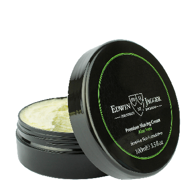 Edwin Jagger Premium Shaving Cream Aloe Vera 100ml