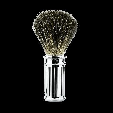 Edwin Jagger 81SB89L11 Lined Chrome Pure Badger Shaving Brush