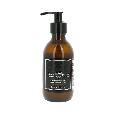 Edwin Jagger Conditioning Beard and Moustache Wash Sandalwood 200ml