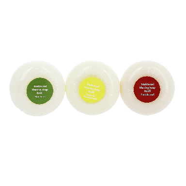 Edwin Jagger Traditional Shaving Soap 3 pack