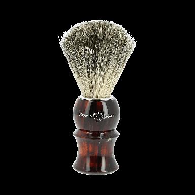 Edwin Jagger Pure Badger Shaving Brush Tortoiseshell 81p13