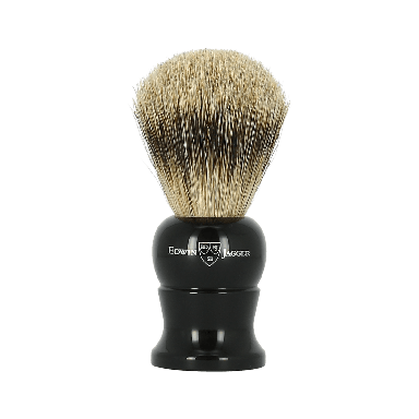 Edwin Jagger Super Badger Ebony Shaving Brush Medium 1EJ286