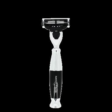 Edwin Jagger Imitation Ebony Chrome Mach 3 Razor