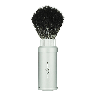Edwin Jagger Synthetic Travel Shaving Brush Silver (21M530)