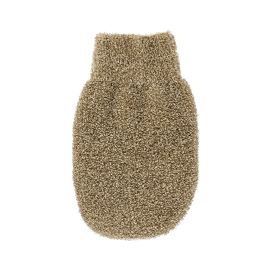 Hydrea Natural Body Massage Linen Spa Mitt