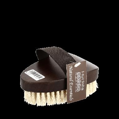 Hydrea Professional Walnut Wood Bath Brush Cactus Bristle