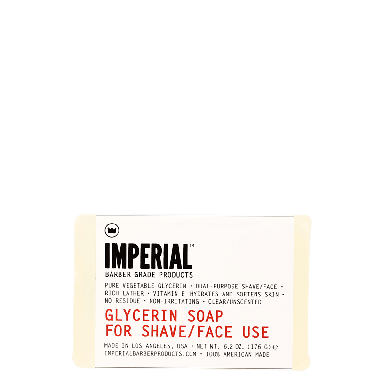 Imperial Glycerin Soap for Shave / Face 6.2oz / 176g
