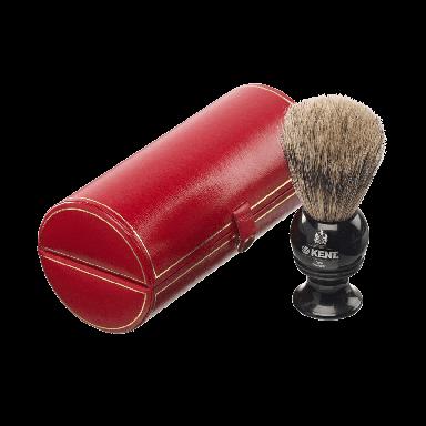 Kent BLK2 Small Black Shaving Brush