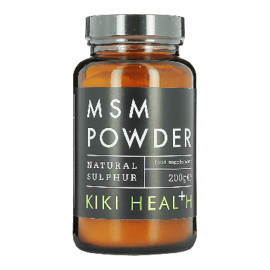 KIKI HEALTH MSM Powder Natural Sulphur Food Supplement 200g
