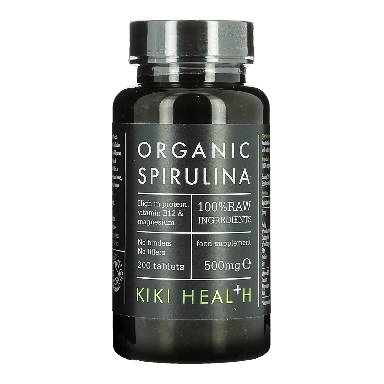 KIKI HEALTH Organic Spirulina Food Supplement 500mg